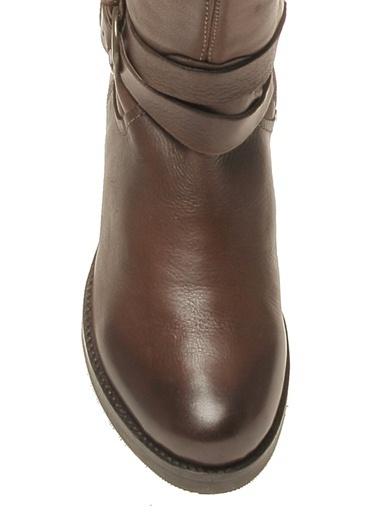 Cotton Bar Çizme Kahve